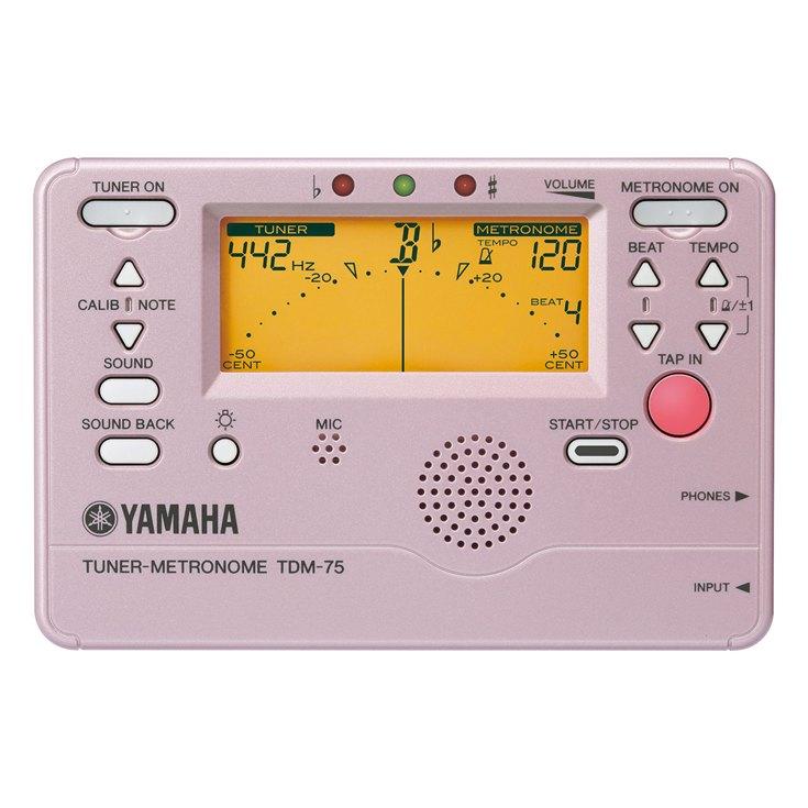 ヤマハ チューナーメトロノーム TDM-75PP