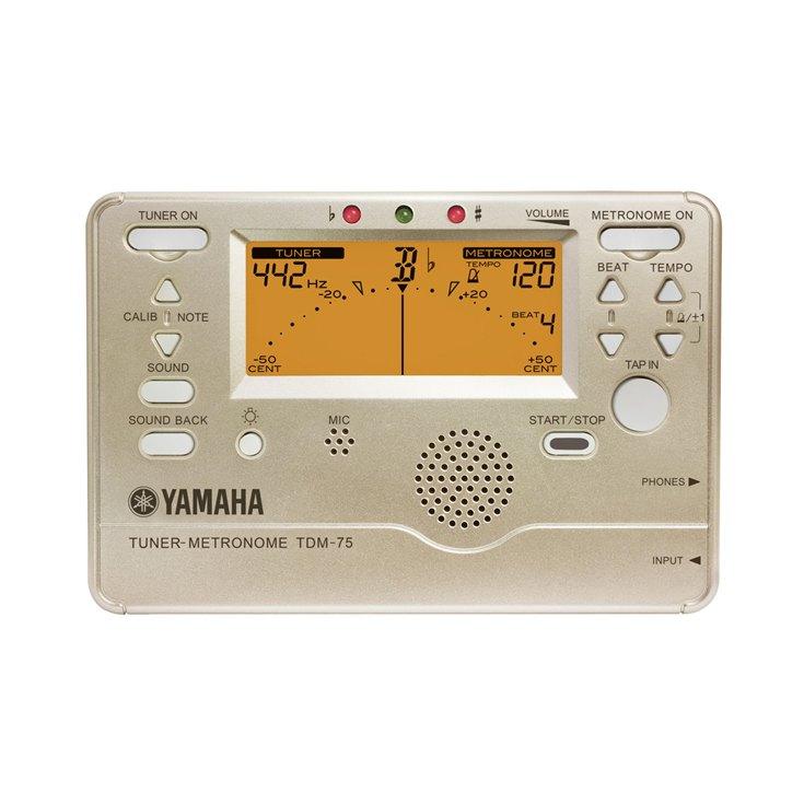ヤマハ チューナーメトロノーム TDM-75
