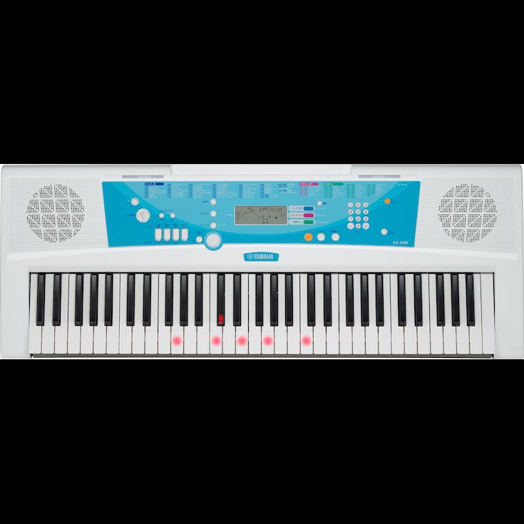 ヤマハ ポータブルキーボード EZ-J220