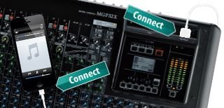 How to Connect to the Mixing Console