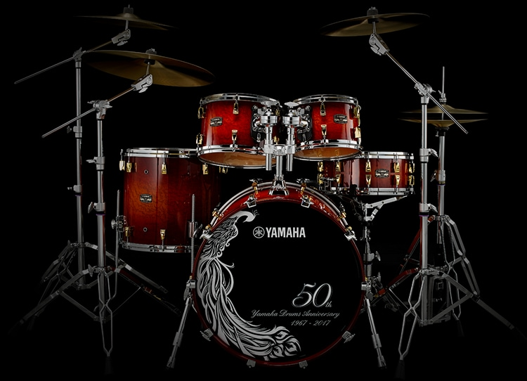 [ Photo ] Yamaha Drums 50th Anniversary Limited Model