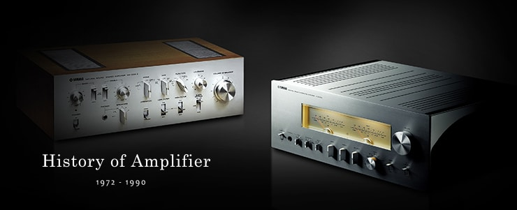 History of Amplifier - 1972 - 1990
