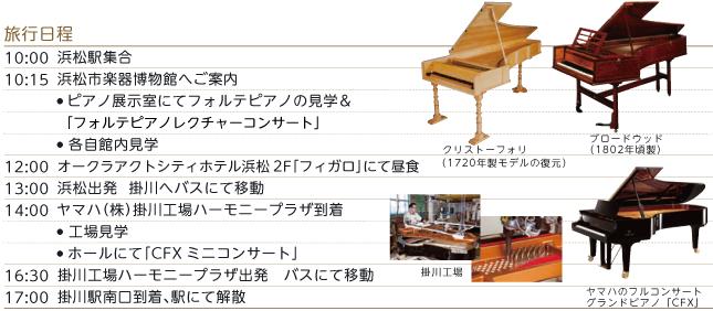 ピアノづくしの旅