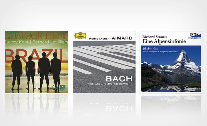 カルテット、ピアノ、オーケストラ。注目の三枚を聴く