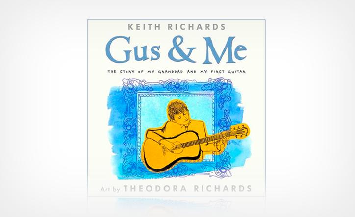 楽器との出会い、そして家族の愛情にあふれる物語/キース・リチャーズ『ガス・アンド・ミー ガスじいさんとはじめてのギター物語』