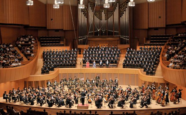 札幌コンサートホールKitaraでのPFMオーケストラ演奏会(2014年7月13日)。