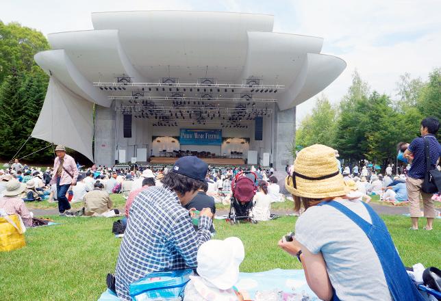 2014年のオープニング・コンサート会場の様子。