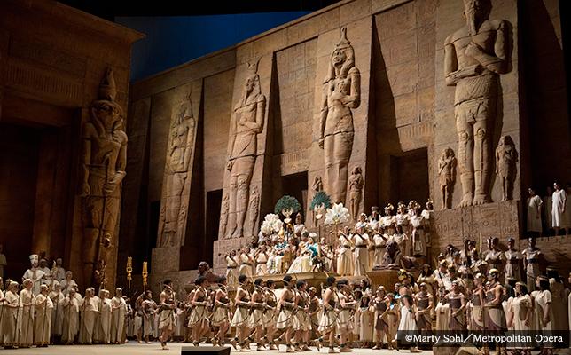 ヴェルディ作曲の不朽の名作オペラ『アイーダ』