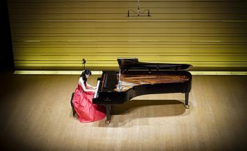 ヤマハホール&CFXを体験!ピアノ演奏撮影会