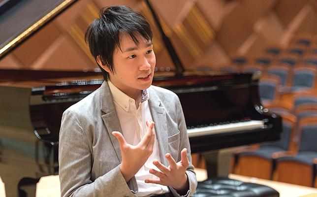 ピアニストは体が資本、アスリートと同じです/阪田知樹インタビュー