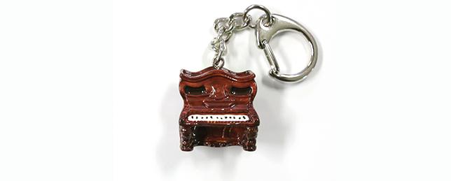 ナポレオン帽子型ピアノキーホルダー