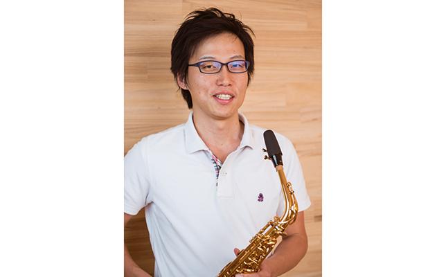 約7年に渡り、サクソフォンの開発を担当している佐々木陽介さん。ヤマハ吹奏楽団に所属するサクソフォン吹きであり、演奏活動で得たヒントを楽器開発に役立てているそう。