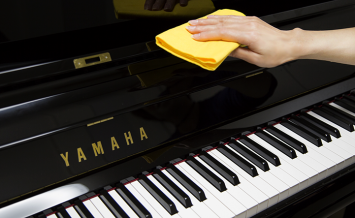 日ごろからできるピアノのお手入れ