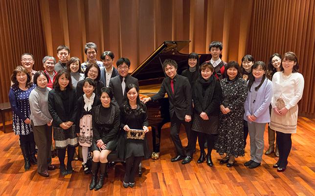 「Pianist Lounge.」公開インタビュー