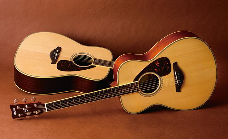 ヤマハギター50周年を機にアコースティックギターのFG/FSシリーズがフルモデルチェンジ