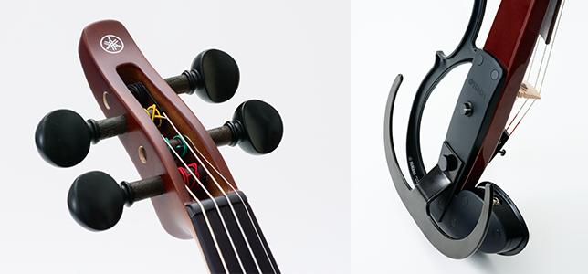 弾く人にとっての理想の音を徹底的に追究したサイレントバイオリン
