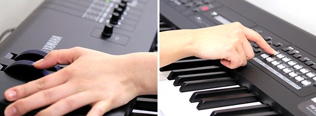 高音質のピアノ・シンセサイザー「MX88」はタッチ感も抜群。88鍵でありながら持ち運びも楽々!