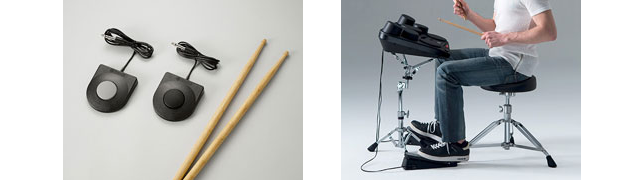 卓上でドラム演奏が楽しめる!音色と叩き心地にこだわったデジタルパーカッション「DD-75」