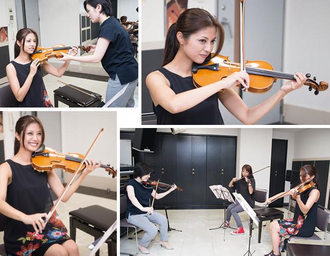 【動画公開中】沖縄民謡アーティスト上間綾乃がバイオリンに挑戦!