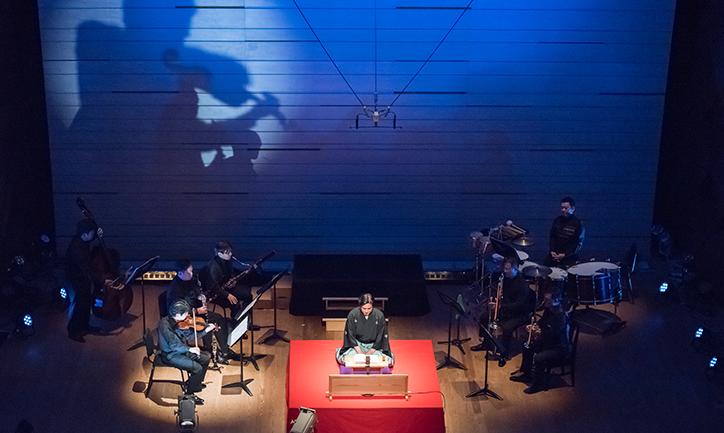 演奏と語りの名手たちが、詠み、演じ、そして踊った。NHK交響楽団メンバーによるストラヴィンスキー「兵士の物語」