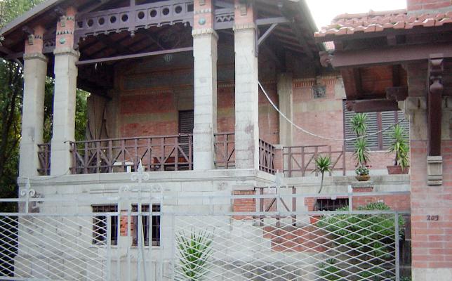 ヴィアレッジョにあるプッチーニ家の外観