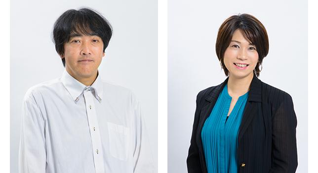 お話を伺った商品企画担当の鳥村浩之さん(左)とマーケティング担当の石田久美子さん。