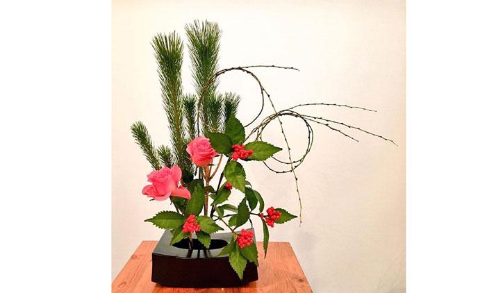 金子さんの生け花