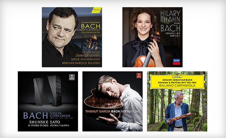 バッハにオマージュを捧げる弦楽器奏者たちの味わい深い録音