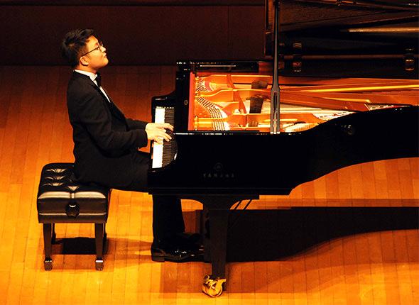第5回仙台国際音楽コンクール 優勝記念演奏会 ソヌ・イェゴン氏がヤマハCFXで詩情あふれる感性をのびのびと披露