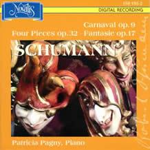 ロベルト・シューマン:謝肉祭、幻想曲、4つの小品、あわれな孤児