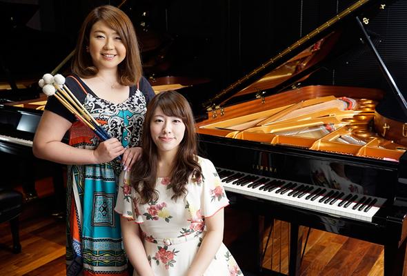 冨永愛子さん&岩見玲奈さん フレッシュな感性が響き合うピアノ&マリンバのデュオの魅力