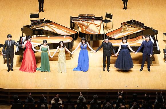 8人の実力派ピアニストが繰り広げた豪華なピアノの「饗宴」/仲道郁代 ピアノ・フェスティヴァル
