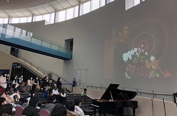 佐賀とニューヨークを結んだディスクラビアによるリモートコンサート /SAGA SEA 2020 音楽寺子屋「Dan Tepfer~22世紀の教室~」